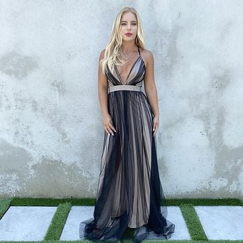 Must Have Been Love Black Maxi Dress