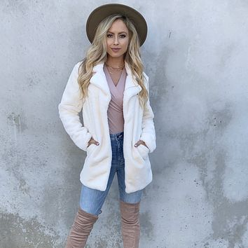 Soft To The Touch Ivory Jacket