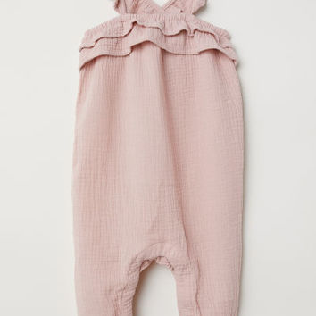 Cotton Jumpsuit - from H&M