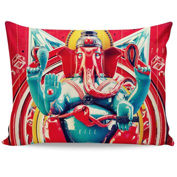 Elephant Kill Pillow Case