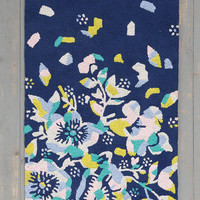 Plum & Bow Flower Burst Rug