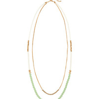 Double-strand Necklace - from H&M