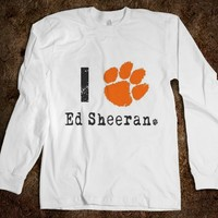 I Paw Ed Sheeran - orange paw - hoodie - Ed Sheeran