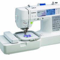 Brother SE400 Computerized Embroidery and Sewing Machine   AihaZone Store
