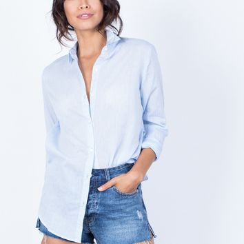 The Classic Woven Blouse