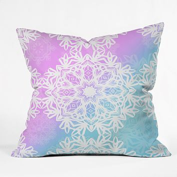 Lisa Argyropoulos Winter Land Throw Pillow