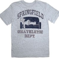 The Simpsons Homer Springfield Unathletic Department T-shirt - The Simpsons - | TV Store Online