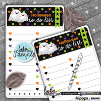 Note Pads, Halloween Notes, To Do List, Note Sheets, Kawaii Notes, Instant Download, Stationery Printable, Cute Notes, Kawaii Sheets, DIY