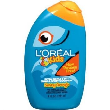 L'Oreal Paris Kids 2-in-1 Extra Gentle Swim & Sport Shampoo, Splash of Sunny Orange, 9-Fluid Ounce:Amazon:Beauty