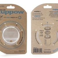(1) Cuppow Regular White/Clear Cuppow Regular White/Clear:Amazon:Kitchen & Dining