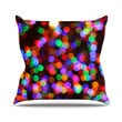 "Maynard Logan ""Lights II"" Outdoor Throw Pillow"