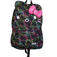 Hello Kitty Allover Neon Backpack | Hot Topic