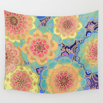 Obsession Wall Tapestry by Micklyn