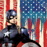 Captain America Civil War Stars & Stripes MightyPrint