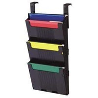 Deflect-O Corporation Products - Hanging File System, 3 Slots, 12-5/8