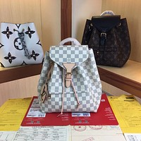 LV Louis Vuitton Women's Tote Bag Handbag Shopping Leather Tote Crossbody Satchel 27.5*33*14CM