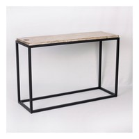 Faux Wood Console Table - Brown - Threshold™
