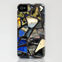 Closeup (PHOTO) of a Glass Mosaic iPhone Case by Around The Island (Robin Epstein) | Society6