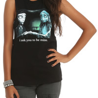 Corpse Bride Be Mine Muscle Girls Top