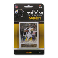 Pittsburgh Steelers 2014 Score NFL Football Factory Sealed 10 Card Team Set Including Ben Roethlisberger  Ryan Shazier Rookie Plus