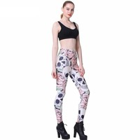 Forbidden Rose Printed Leggings