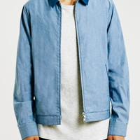 LTD Maui Chambray Harrington Jacket