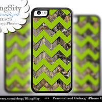 Monogram iPhone 5C 6 6 Plus Case Camo Apple Green Chevron iPhone 5s iPhone 4 case Ipod 4 5 case Real Tree Personalized Country Inspired Girl