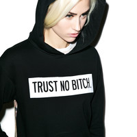 Hellz Bellz Trust No Bitch Hoodie Black