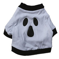 DroolingDog Dog Ghost Printing Cotton Lovely T-shirt X-small