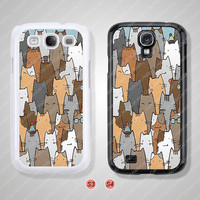 Samsung Galaxy S3 case, Samsung Galaxy S4 case, Cat, Phone cases, Phone Covers - S0924