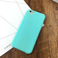Fashion Candy Dustproof Case for iPhone 7 7Plus & iPhone se 5s 6 6 Plus Best Protection Cover +Gift Box-539