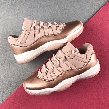Air Jordan 11 Low Gs Rose Gold Sport Shoe