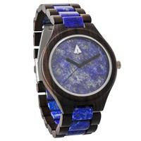 Classic All Wood Blue Marble