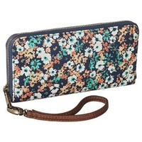 Merona® Floral Printed Phone Case Wallet with Removable Wristlet Strap - Multicolored