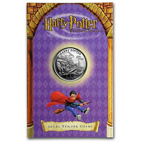 2002 Isle of Man Cupro-Nickel 1 Crown Harry Potter: Harry in the Hospital