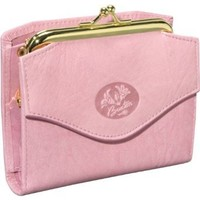 Buxton Heiress French Purse (Pink)