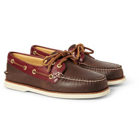 Sperry Top-Sider - Gold Cup Leather Boat Shoes   MR PORTER