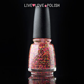 China Glaze Point Me To The Party Nail Polish (Electric Nights Collection)