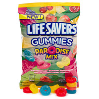 Life Savers Gummies Candy - Paradise Mix: 5LB Case