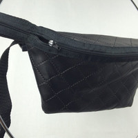 Quilted Leather Fanny Pack