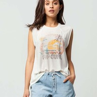 RIP CURL 70s Womens Muscle Tee | Graphic Tees
