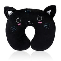 Happy home Good Quality  Cushions Mini Cute 1 PCS Home Office Accessory Soft Cartoon U Shaped Neck Relax Pillow