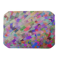 """Marianna Tankelevich """"Abstract"""" Rainbow Place Mat"""