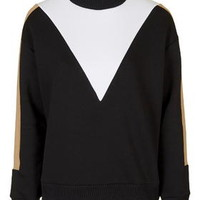 Funnel Colourblock Sweatshirt - Multi