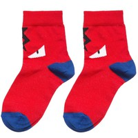 Unisex Red 'Monster' Socks