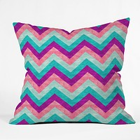 Jacqueline Maldonado Chevron Sweet Throw Pillow
