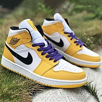 NIKE air jordan 1 AJ1 women men sneakers Shoes