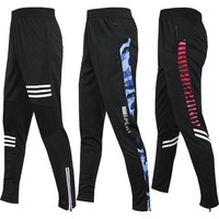 Men's Running Pants Gym Athletic Football Soccer Training Pants Fitness Workout Jogging Quick Dry Running Sport Trousers