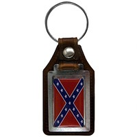 Rebel Flag Keychain