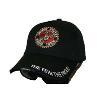 US Marines The Few The Proud Embroidered Baseball Cap Hat